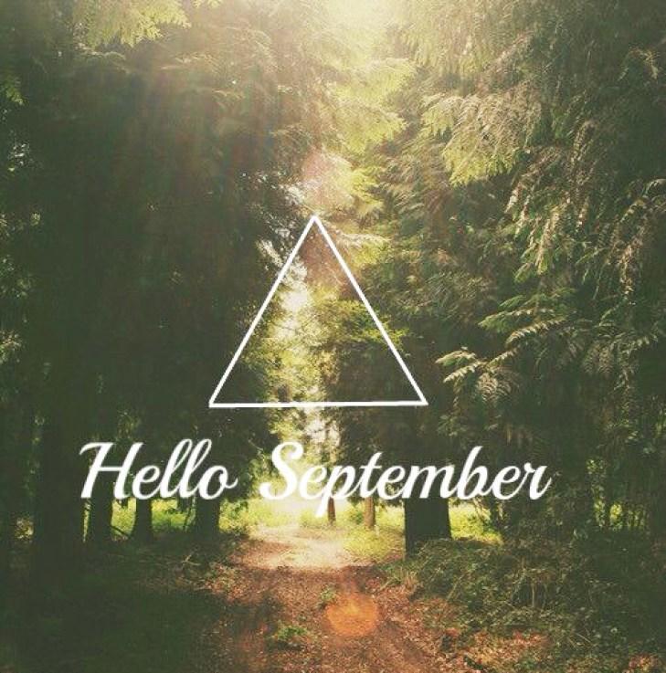 Hello September bonjour septembre nouveauté beauté rentrée blog