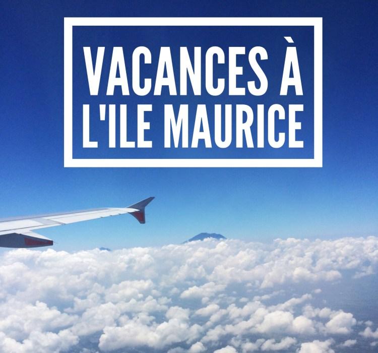 Photo avion vacances Ile Maurice