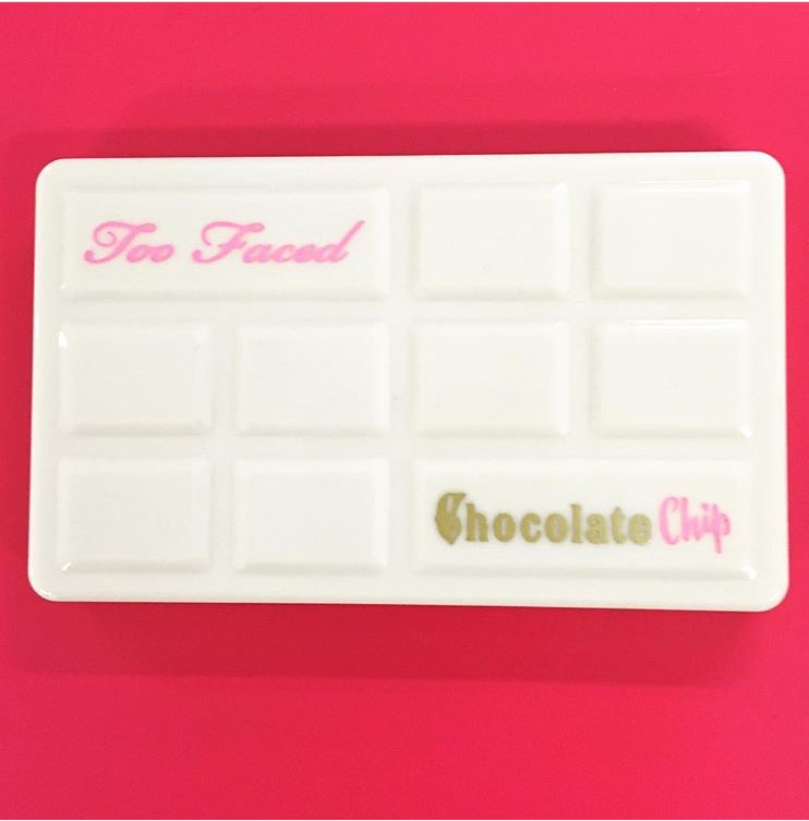 Too Faced palette chocolate chip bar date sortie blog spring printemps