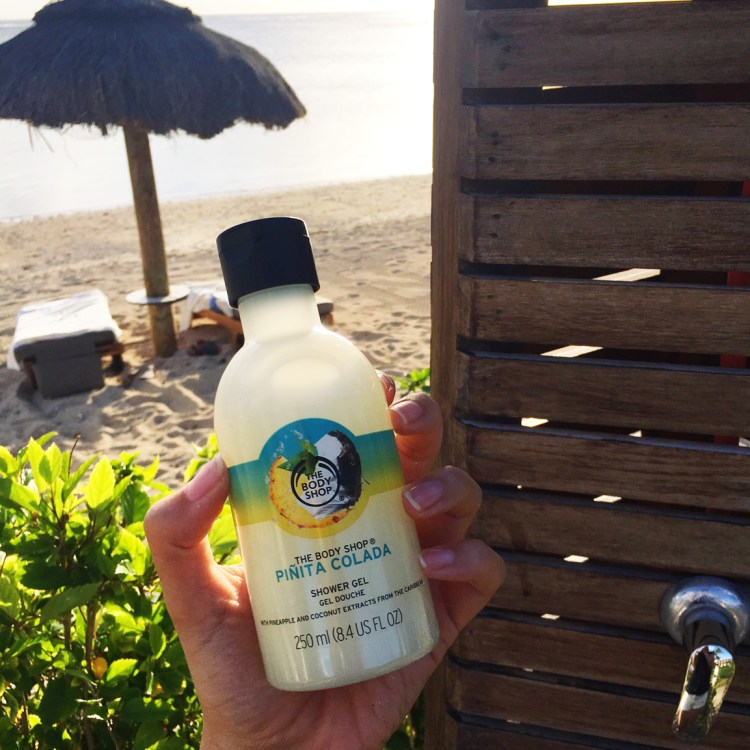 Gel douche Pinita Colada The Body Shop avis blog