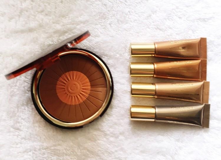 Clarins Hale d'été maquillage make up été bonne mine Poudre Soleil & Blush Ombre Waterproof