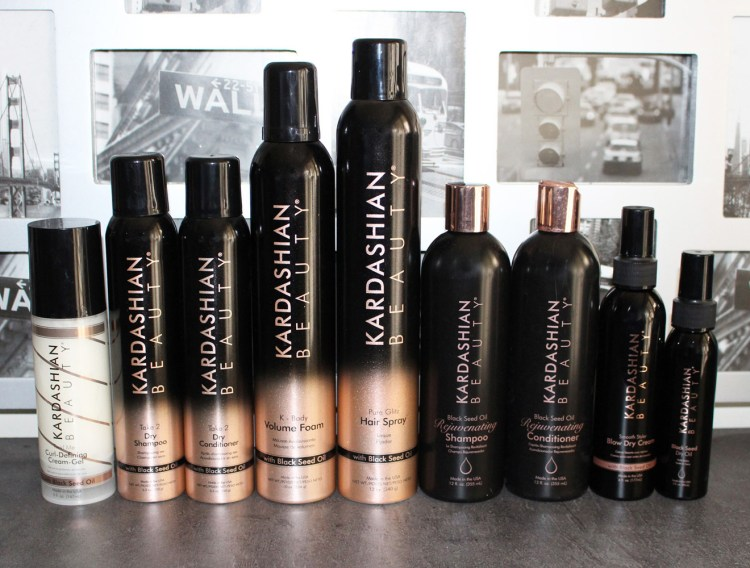 Kardashian Beauty Black Seed Oil Rejuvenating Shampooing et après-shampooing avis blog