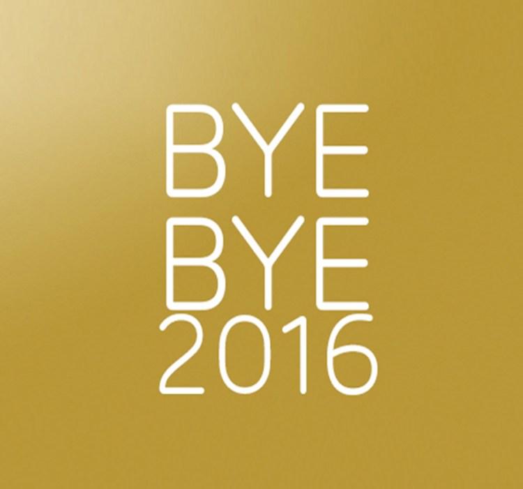 Bye Bye 2016 blog beauté best of articles