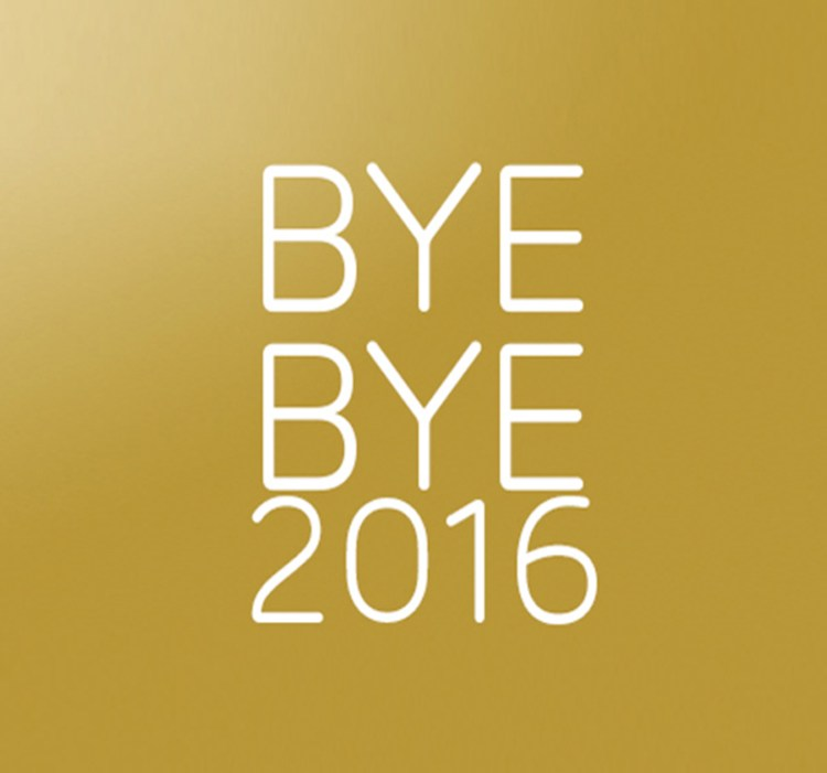 Bye Bye 2016 blog beauté best of articles