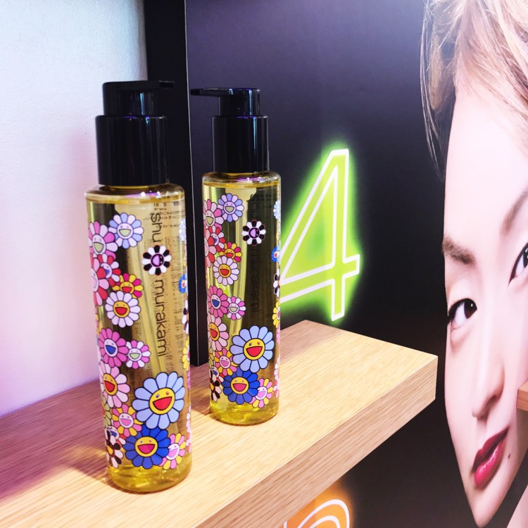 collection Shu Uemura X Murakami Cosmic Blossom avis blog brushing haircare soin des cheveux huile capillaire