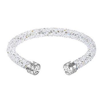 swarovski-Crystaldust Bracelet-jonc simple, White blanc