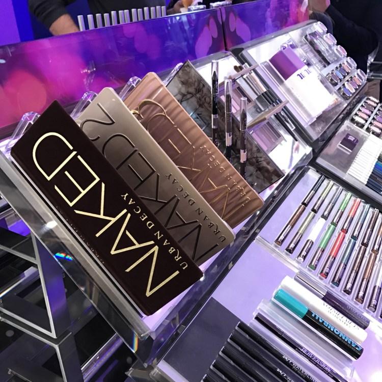 Urban Decay Boutique Paris France 48 rue des francs bourgeois 75003 ouverture avis blog naked palette