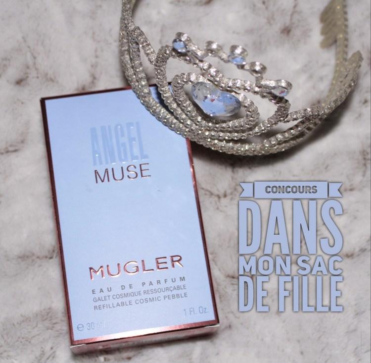 Concours Blog Angel Muse Mugler avis eau de parfum