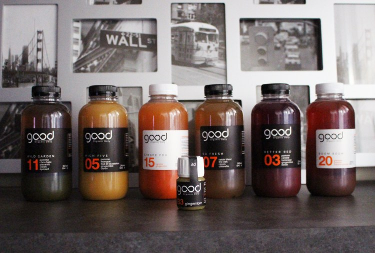 Good Organic Only Jus et cures detox minceur Mareva Galanter nutritionniste Valérie Espinasse