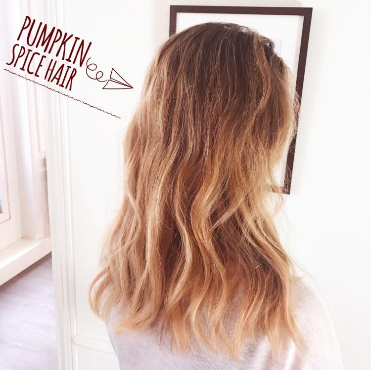 Pumpkin Spice Hair L'atelier des couleurs salon de coiffure meilleur coiffeur coloriste paris avis blog