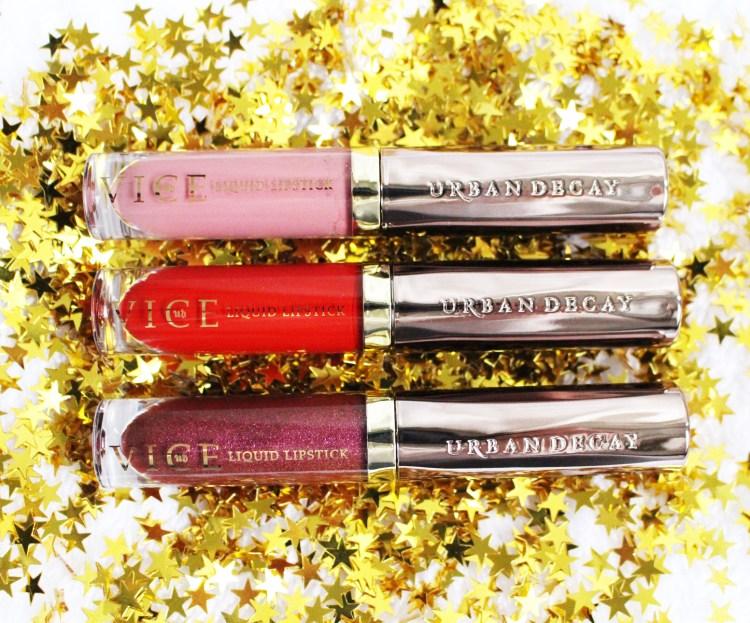 Urban Decay Vice Liquid Lipsticks avis blog swatch