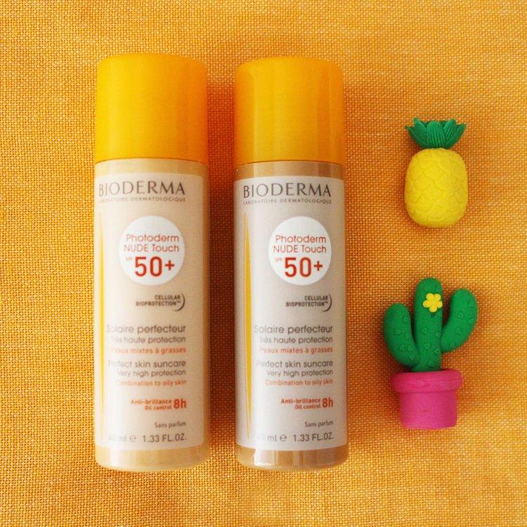 crème solaire Photoderm Nude Touch SPF50+ Bioderma avis blog