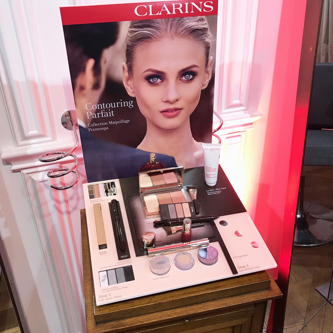 Avis sur la collection maquillage Printemps Eté de Clarins kit pores matité  palette contouring stylo yeux