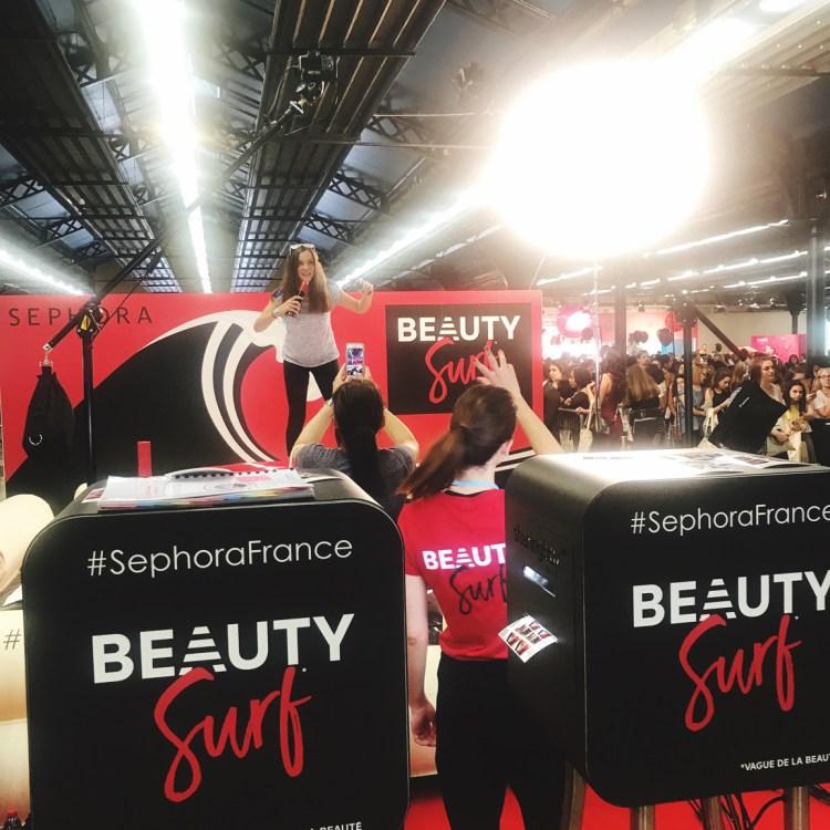 2e édition salon Get Beauty salon des Youtubers Youtubeuses blog sephora