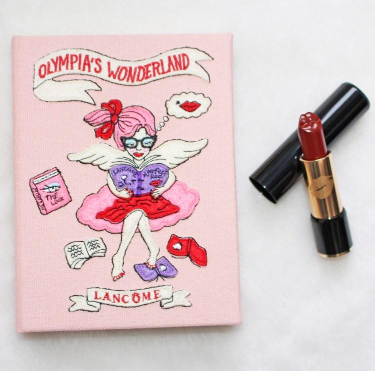 Lancôme X Olympia Le-Tan mon avis sur la jolie palette Olympia's Wonderland blog