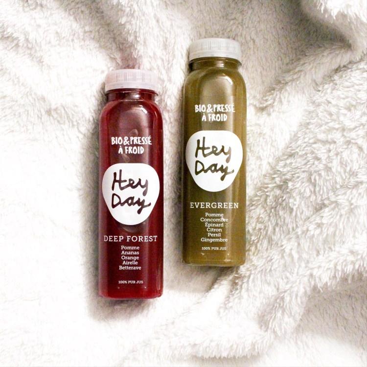Découverte des jus de fruits et légumes pressés à froid HeyDay avis blog