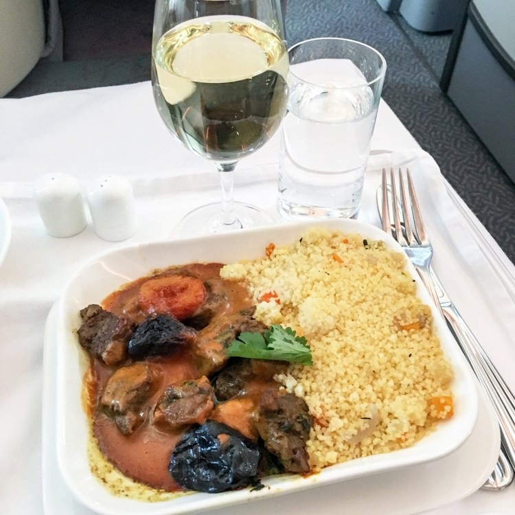 voyage en Business Emirates mon avis la classe affaire A380 blog tagine
