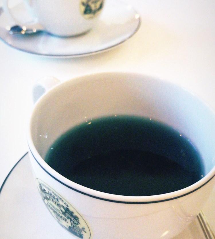 Coup de coeur pour le brunch so chic Mariage Frères avis blog paris french tea bleu