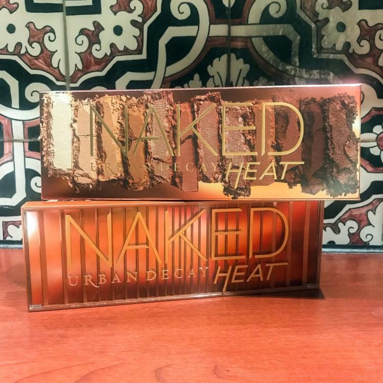 Swatch et avis palette Naked Heat d'Urban Decay blog dans mon sac de fille