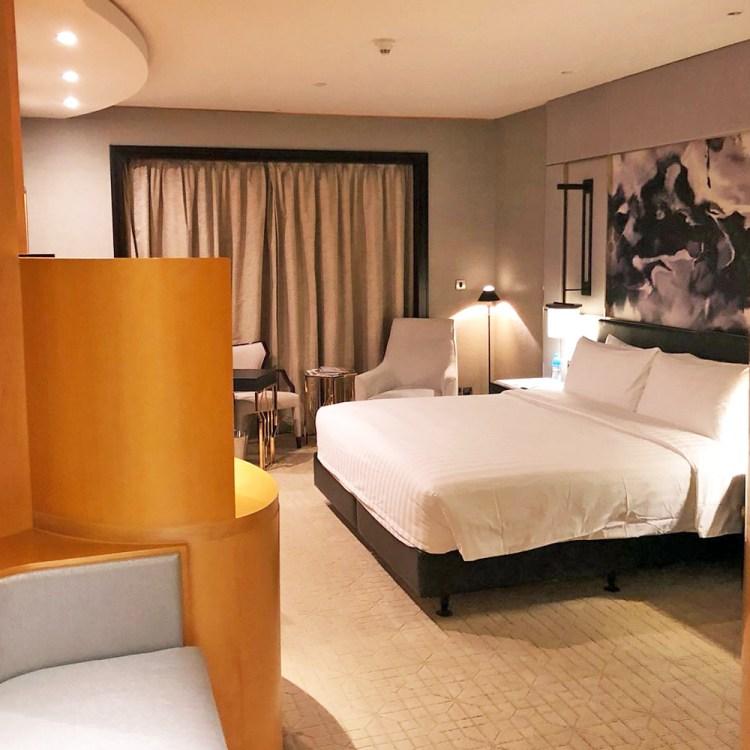 Mon séjour à l'hôtel Shangri-La de Dubaï chambre avis blog