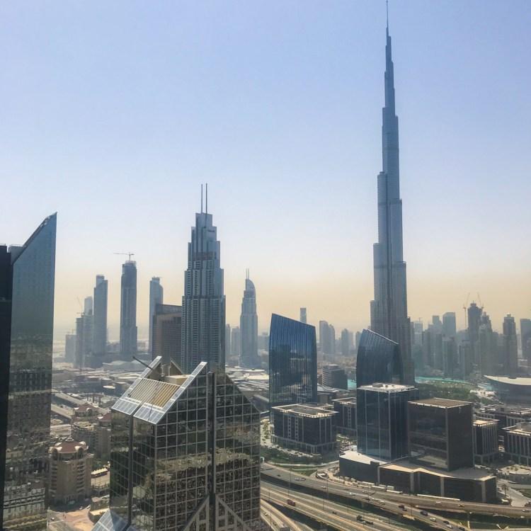Mon séjour à l'hôtel Shangri-La de Dubaï rooftop avis blog