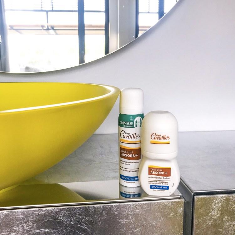 Mon avis sur le déodorant Absorb+ Rogé Cavaillès blog beauté