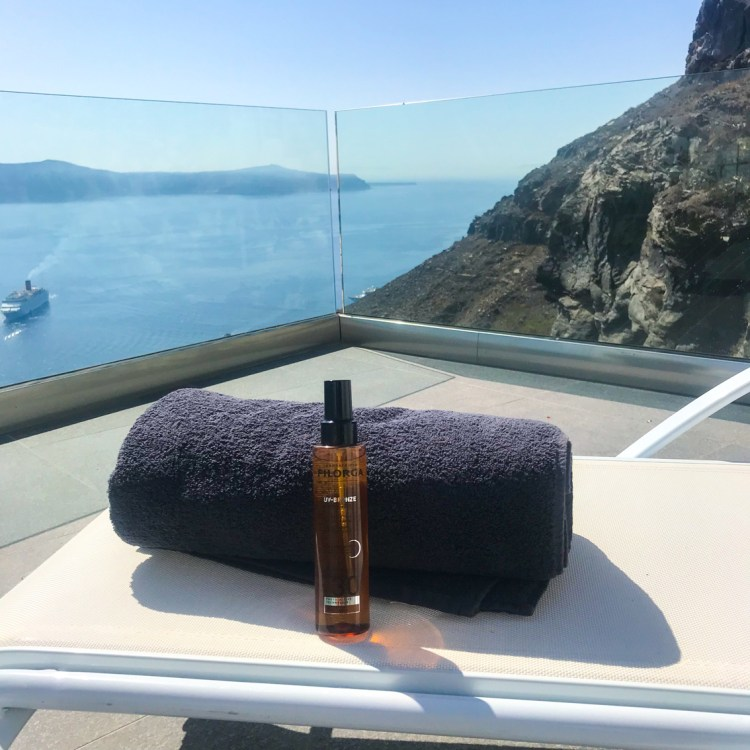 Mon avis sur l'huile corps SPF30 UV BRONZE de Filorga blog beauté
