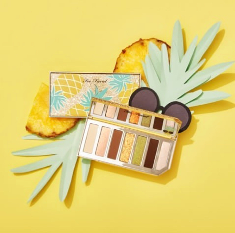 Tutti Frutti la nouvelle collection maquillage de Too Faced palette fards à paupières yeux Sparkling Pinneaple avis blog