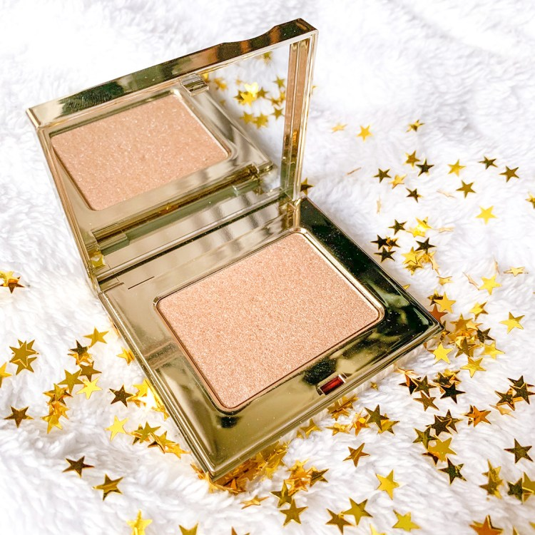 La collection maquillage de Noël prête-à-briller Clarins poudre highlighter avis blog