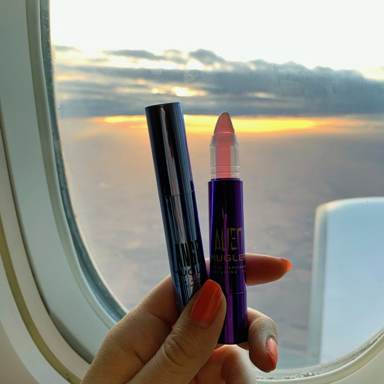 Les stylos parfumants Alien et Angel de Mugler avis blog dans mon sac de fille