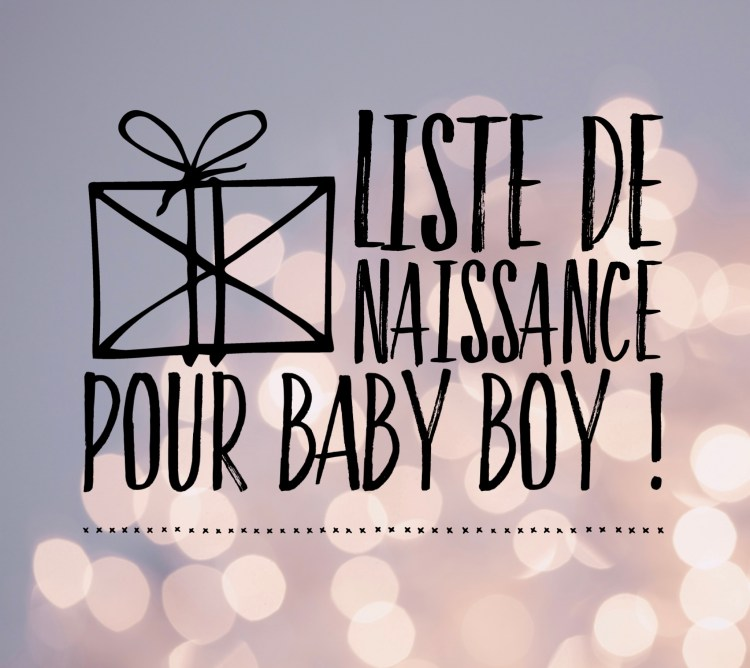 Ma liste de naissance et découverte de l'appli Mes Envies blog