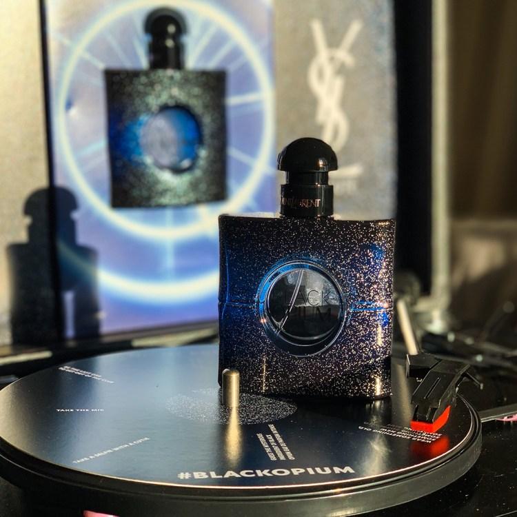 Black Opium Eau de Parfum Intense la nouvelle fragrance d'Yves Saint Laurent avis blog beauté
