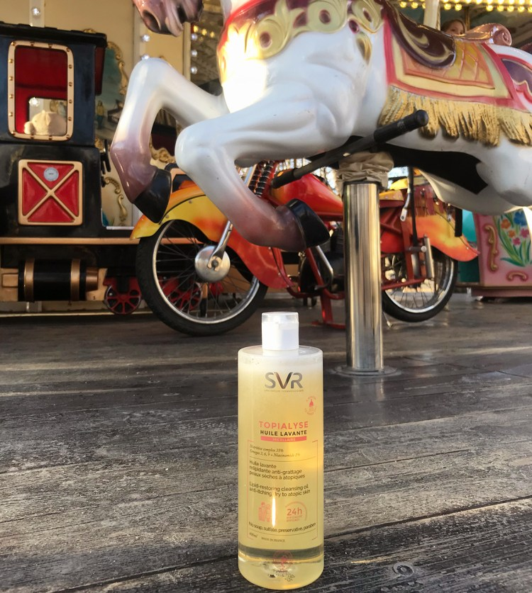 Coup de coeur pour l'huile Lavante Micellaire Topialyse SVR blog avis