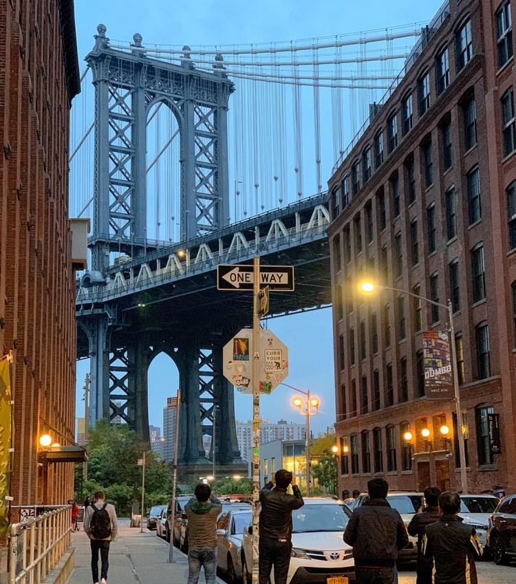 New York New York pont brooklyn dumbo bonnes adresses à faire absolument blog voyage dans mon sac de fille