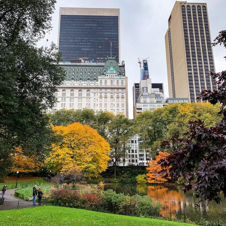New York central park lac bonnes adresses à faire absolument blog voyage dans mon sac de fille