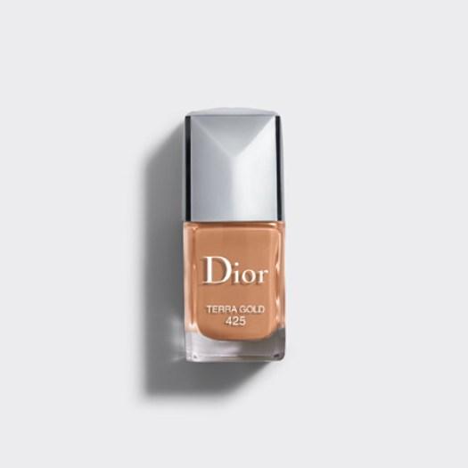 Wishlist cadeaux d'anniversaire pour mes 34 ans blog beauté vernis à ongles Terra Gold Dior