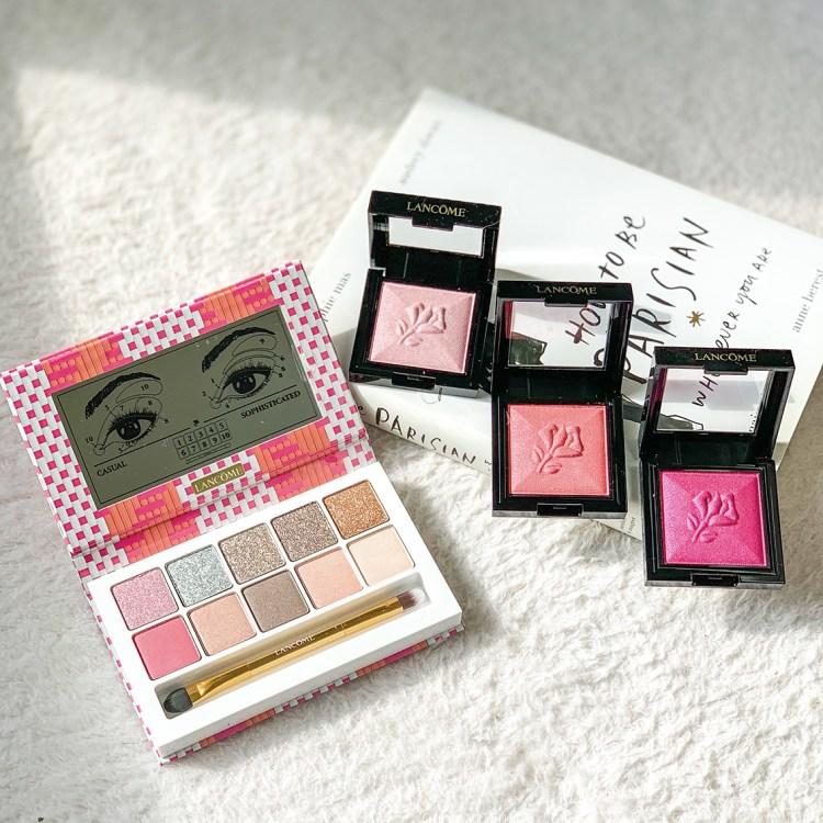 Café Bônheur mon avis sur la collection maquillage 100% parisienne de Lancôme blog swatch palette yeux Café Bônheur Eye Palette monochromatique