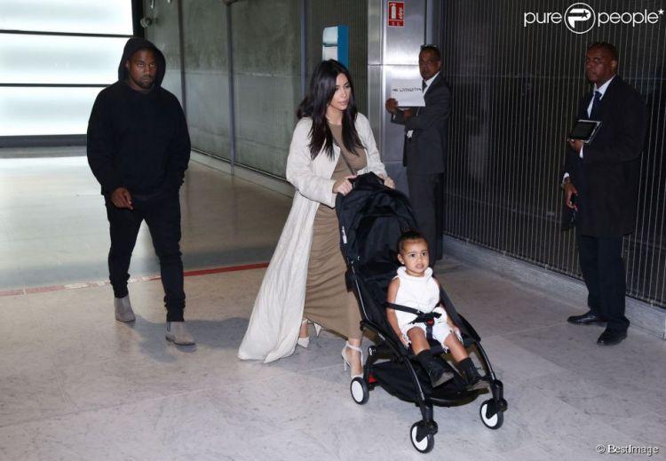 Coup de coeur poussette Yoyo Baby Zen Kim Kardashian Kanye North west