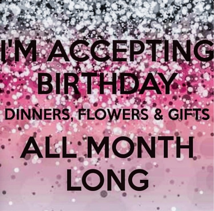 Wishlist annniversaire pour mes 35 ans cadeaux blog i'm acceptiong birthday dinners, flowers and gifts all month long