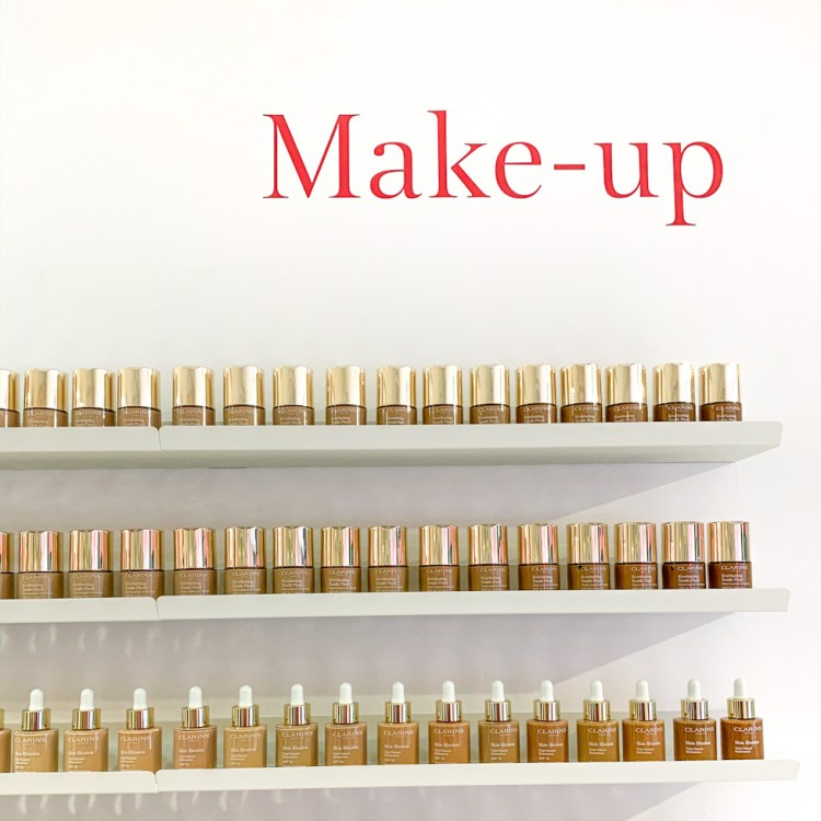 Clarins Lab le popup store de demain by Clarins avis blog