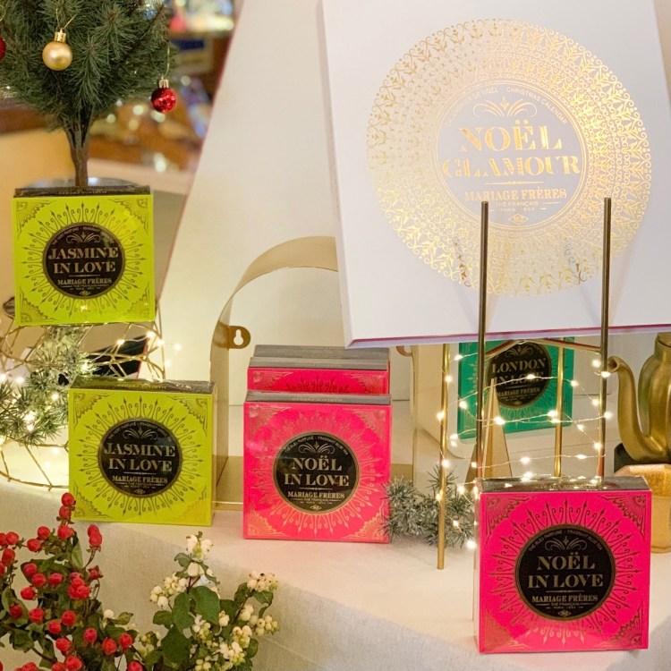 La collection de Noël Mariage Frères avis blog thé