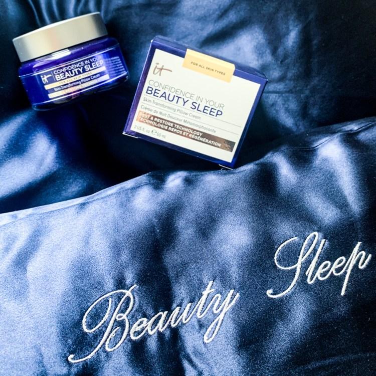 Mon avis sur la crème de nuit Confidence in Your Beauty Sleep It Cosmetics blog test