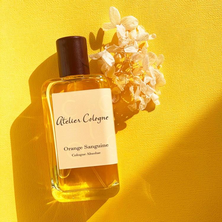 La Cologne Absolue Orange Sanguine d'Atelier Cologne avis test blog