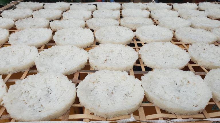 Galettes de riz maison
