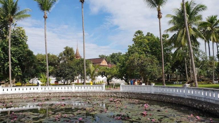 Jardin du Palais Royal Luang Prabang