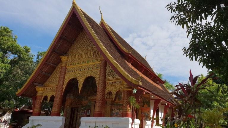 temple Luang Prabang Wat Xieng Muan