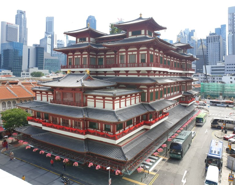 Buddha Tooth Relic Temple Singapour