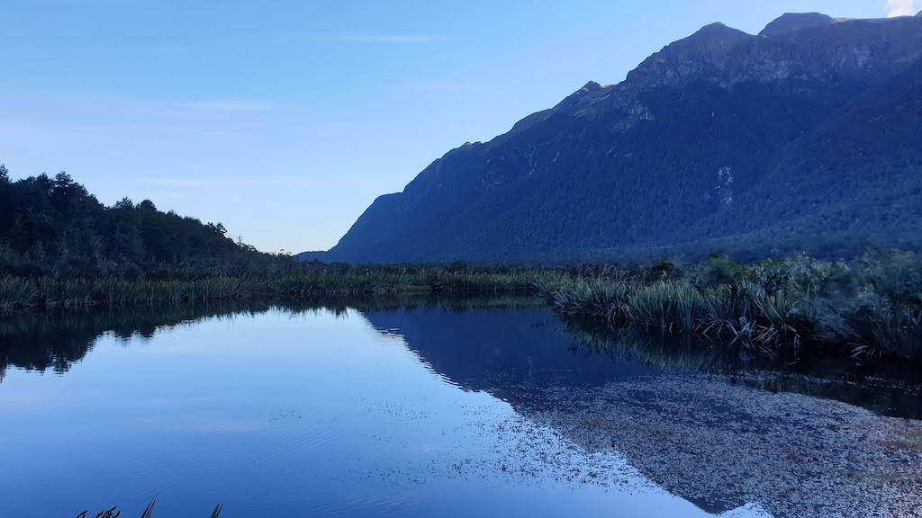 Mirror Lakes Te Anau Milford Sound
