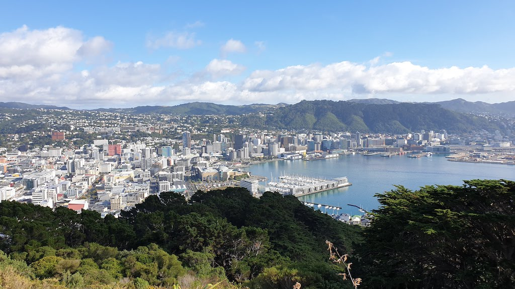Mount Victoria lookout Wellington