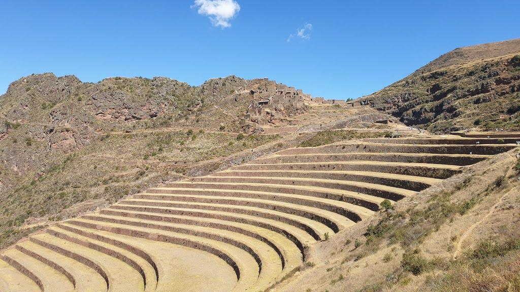Terrasses du site archéologique Pisac